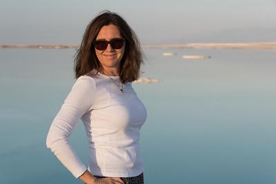 Linda - beauty on the Dead Sea