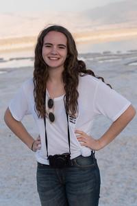 Hannah at the Dead Sea