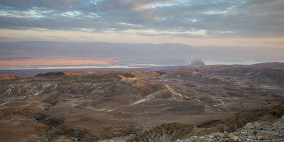 Masada - from the West