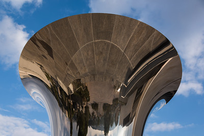 Turning the World Upside Down, Jerusalem sculpture