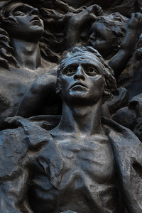 The Warsaw Ghetto Uprising Sculpture