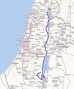 Galilee to Dead Sea Region