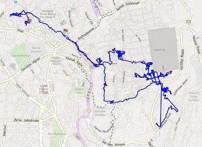 Touring the Old City of Jerusalem