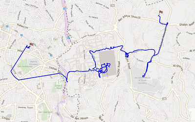 Walk from Mt Scopus to Old City of Jerusalem