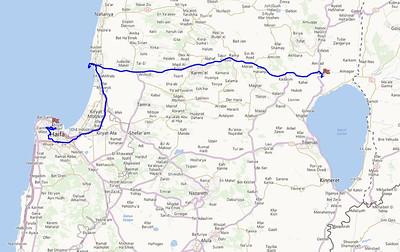 Day 4 - Haifa to Vared Hagalil