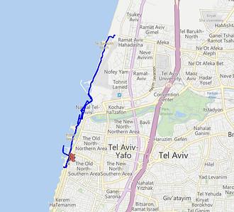 Last Day - Bike Ride in Tel-Aviv