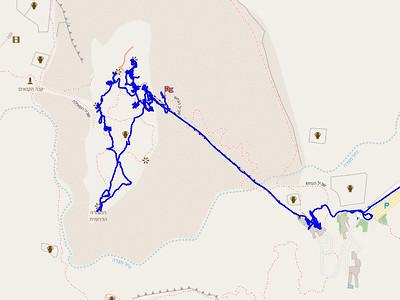 Climbing and visiting Masada