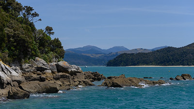 Abel Tasman National Park is a wilderness reserve at the north end of New Zealand's South Island