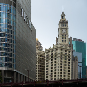 View from Chicago Riverwalk