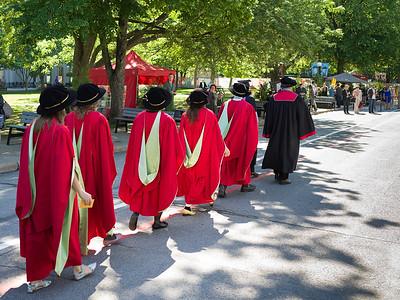 Graduation Day at McGill University