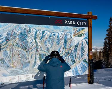 Friends Skiing -  Park City, Utah