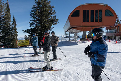 Friedns Skiing -  Park City, Utah