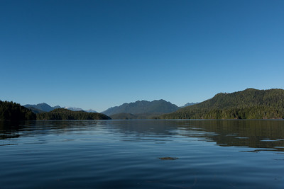 Kayaking in Clayoquot Sound, Tofino