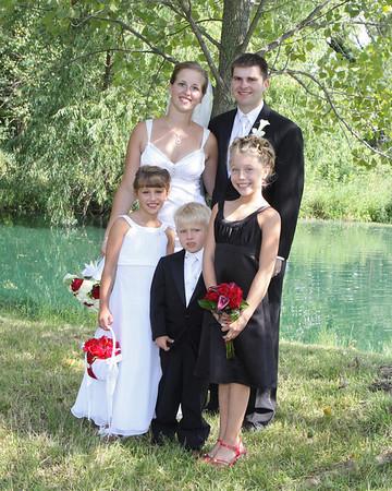 TRISHA AND JEFF'S WEDDING DAY