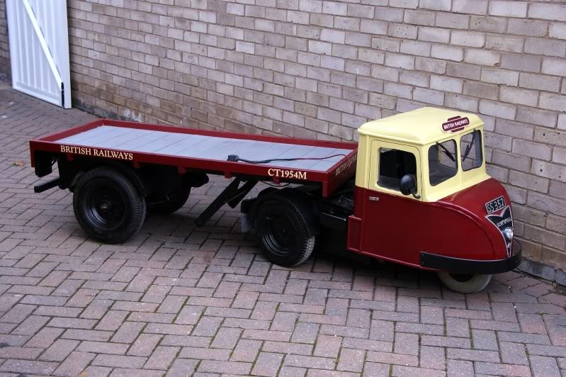 MODEL BASED ON A SCAMMELL SCARAB