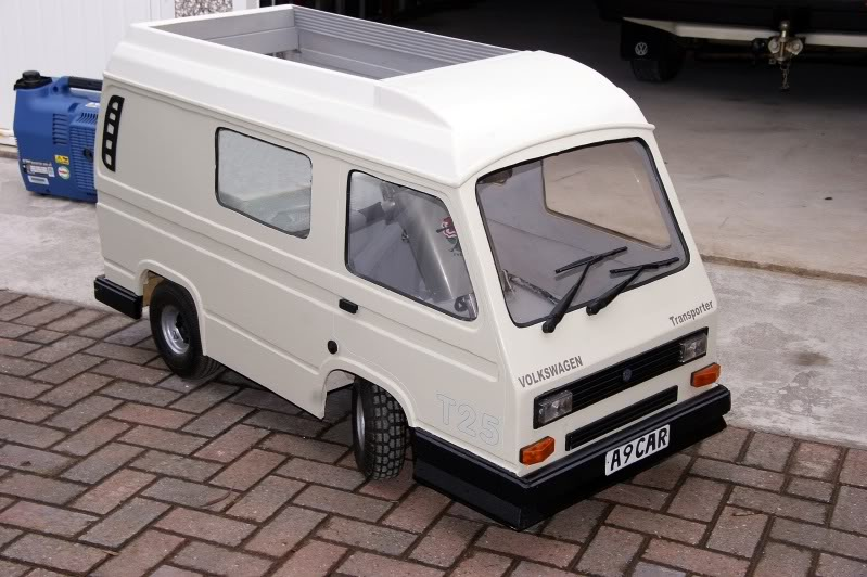 Model of our T25 CAMPER VAN.