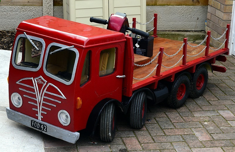 FODEN DOUBLE STEER BASED ON A CORGI MODEL FROM SCOTTISH & NEWCASTLE BREWERIES..