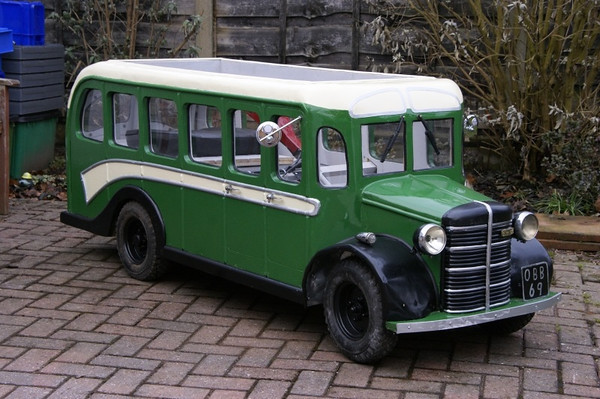 BASED ON A BEDFORD OB COACH
