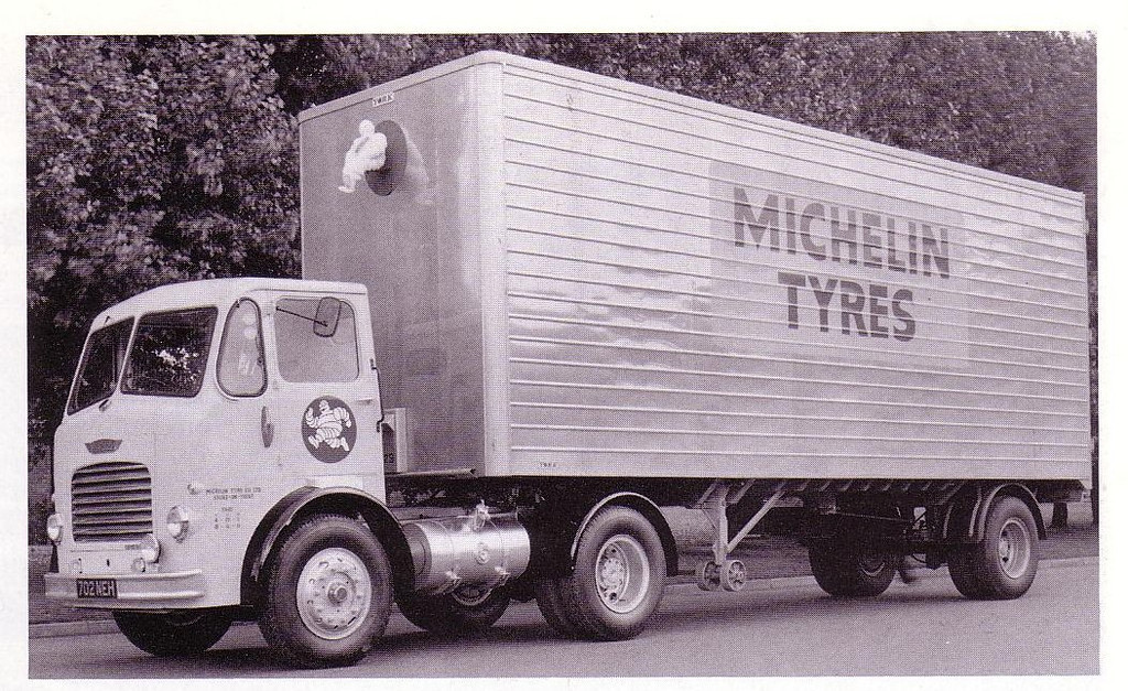 REAL LORRY ON WHICH THE MODEL IS BASED.