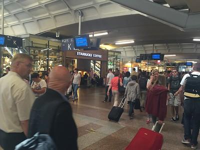 Arrived @ Lyon TGV Part Dieu Station