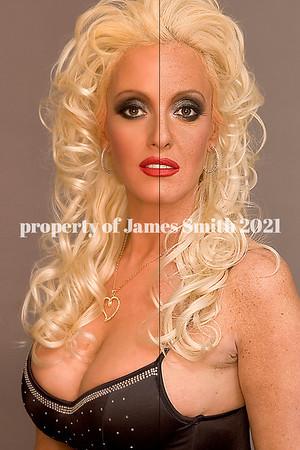 Glamour/fashion retouching
