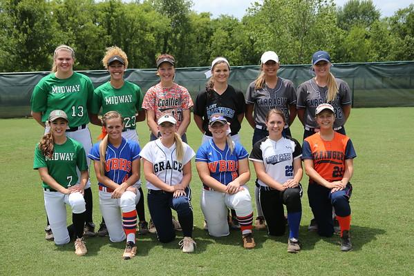 TSCA 2016 Senior All-Stars Team Photos