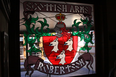 Lunch at the Scottish Arms