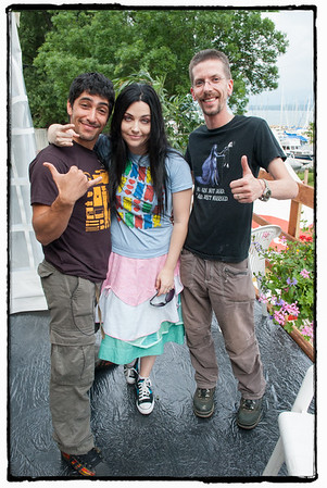 Amy Lee - Noman Hosni- Vincent Rebetez