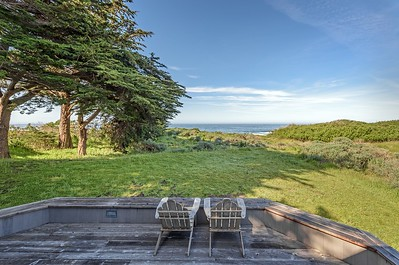 Back Deck with White Water Views
