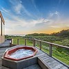 Hot Tub with Sunset Views