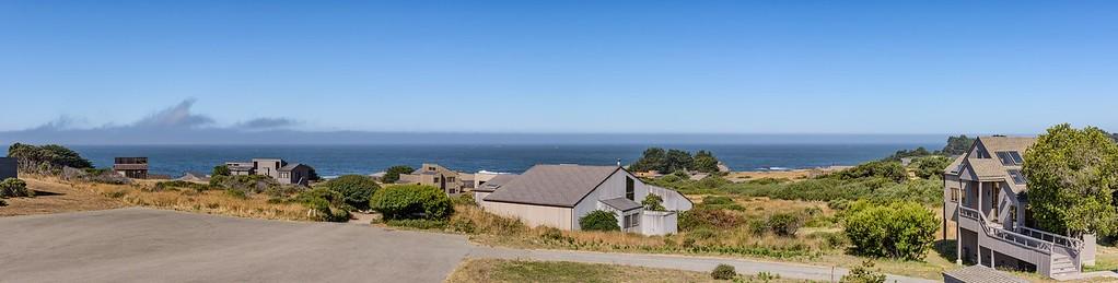 Panoramic Ocean Views from Top Deck