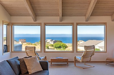Ocean Views for Second Floor Living Room