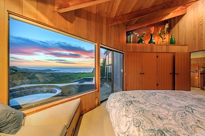Master Bedroom with Sunset Ocean Views