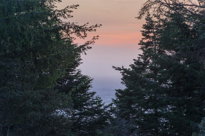 Telephoto Sunset View