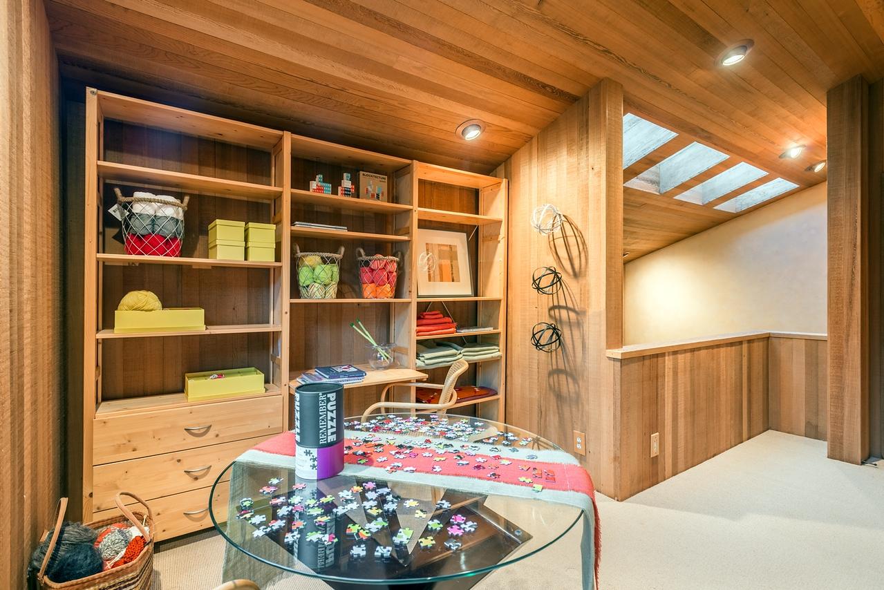 Loft Office Area