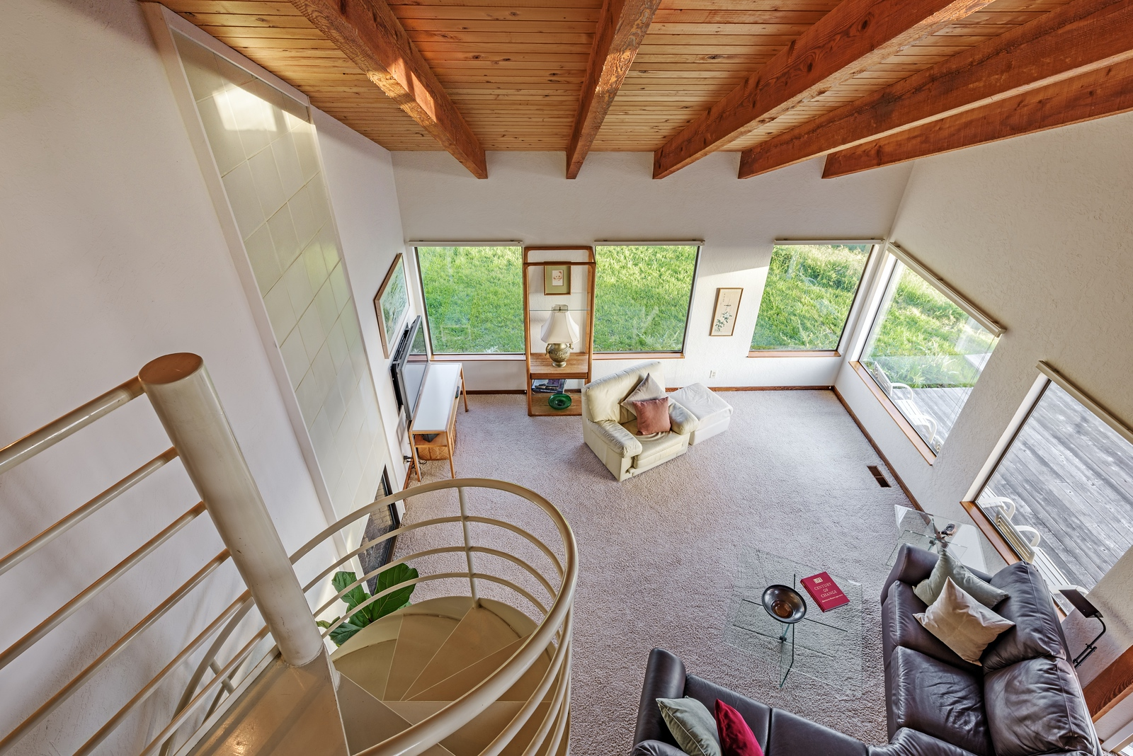 View from Upstairs Loft