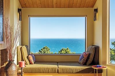 Window Seat with Ocean Views