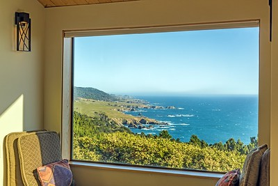 Window Seat with Views to Salt Point
