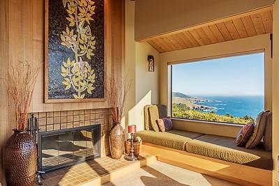 Window Seat and Millard Sheets Mosaic