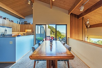 Dining Room and Door to Deck