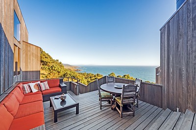 Deck with South Coast Views