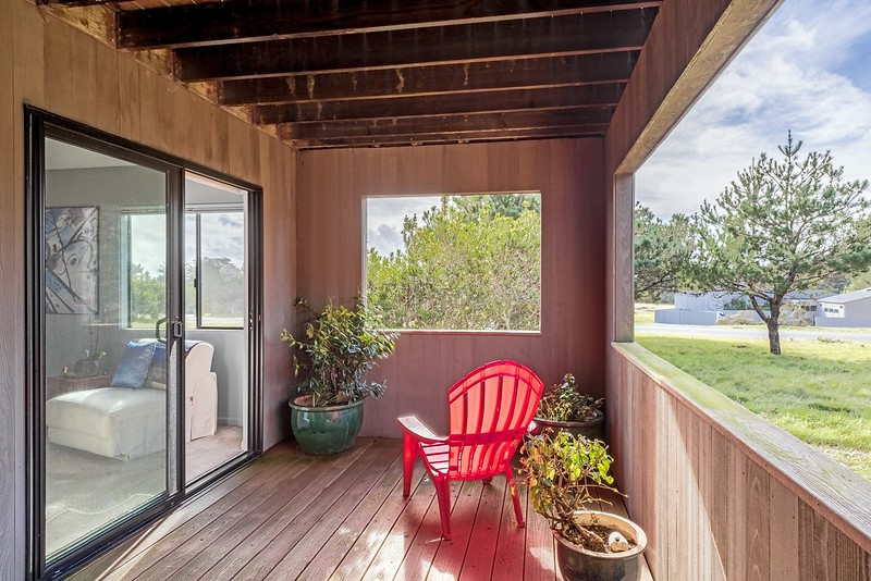 Deck off  North Guest Room