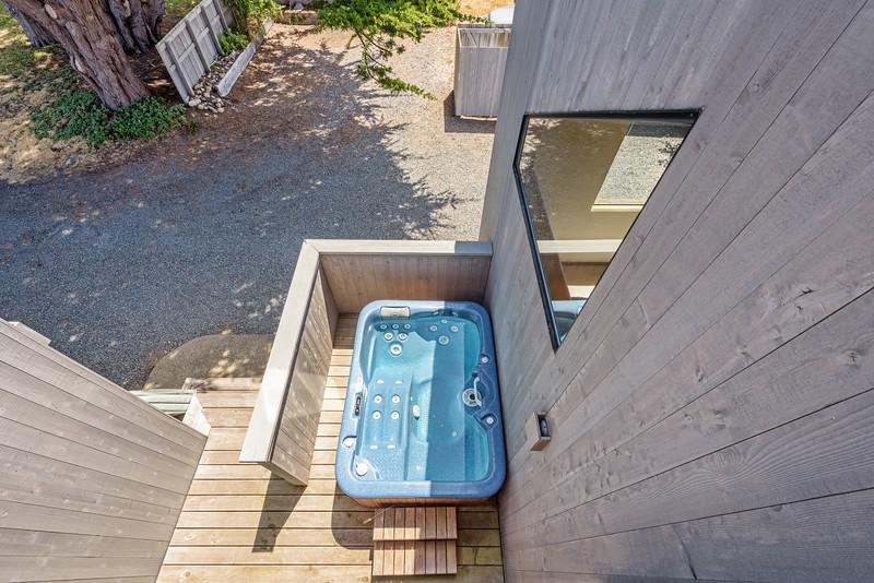 Hot Tub from Loft