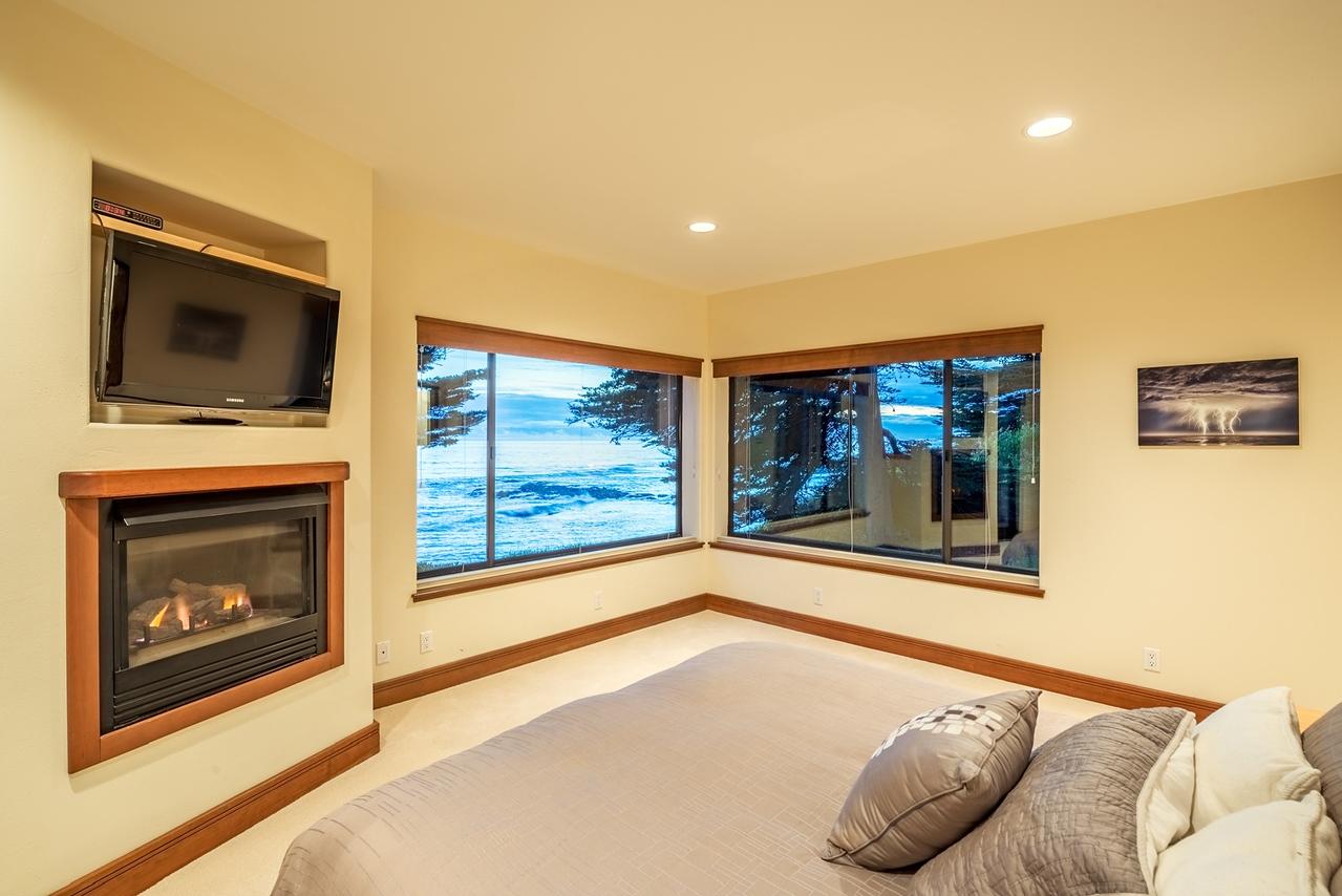 Master Bedroom at Twilight