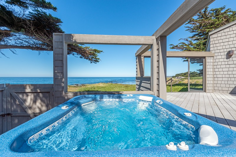 Hot Tub with Ocean View