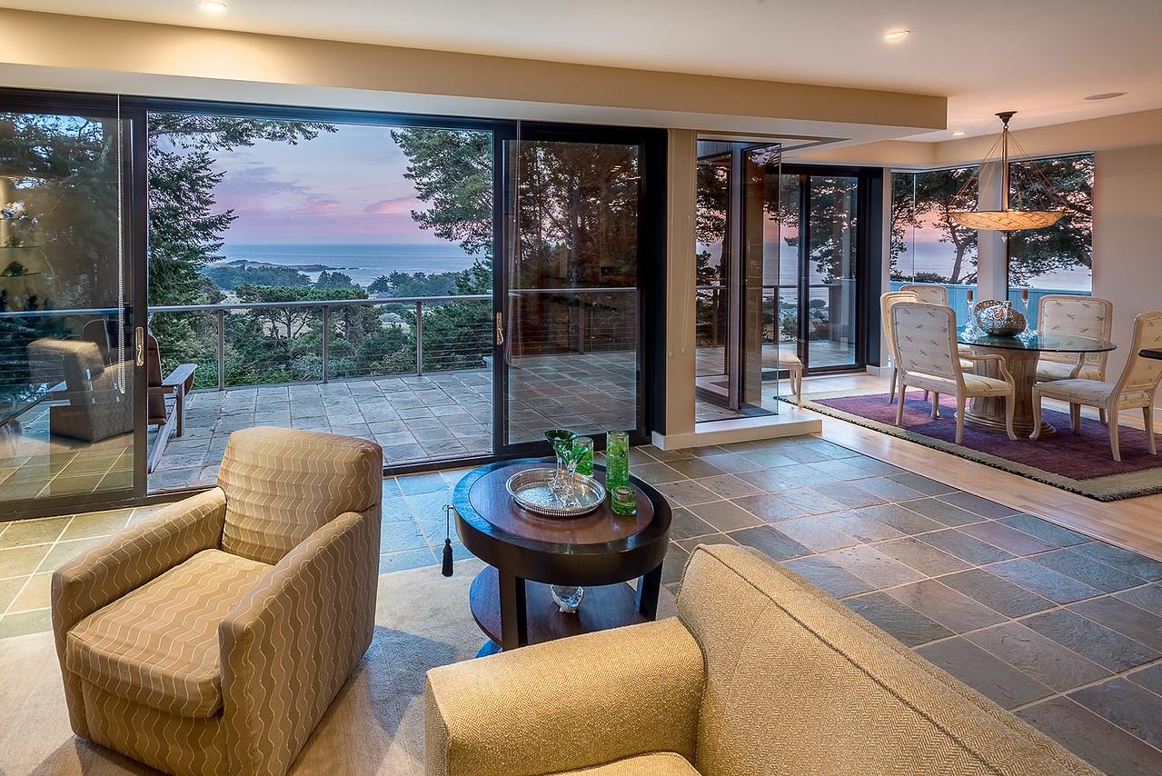 Living Room @ Sunset