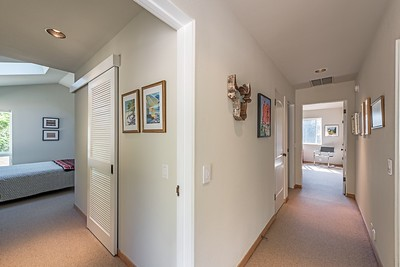 Hall to Media Room & Guest Bedroom