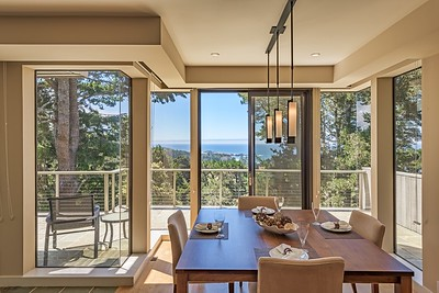 Dining Room with Ocean Views of Black Point
