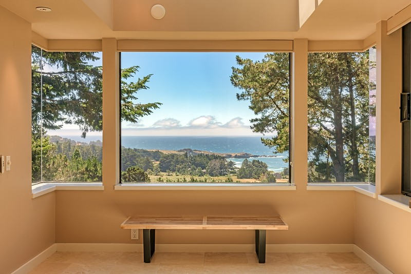 Ocean Views from Master Bathroom
