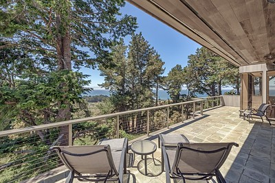 Big Deck with Ocean Views